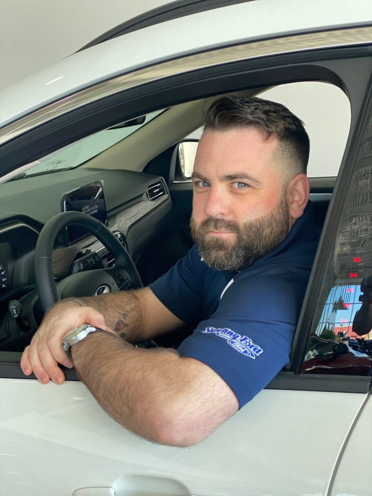 Portrait of Paul Langlois, Used Car Inventory Manager & Sales at Sterling Ford