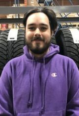 Riley Warnock : Parts Inventory Specialist