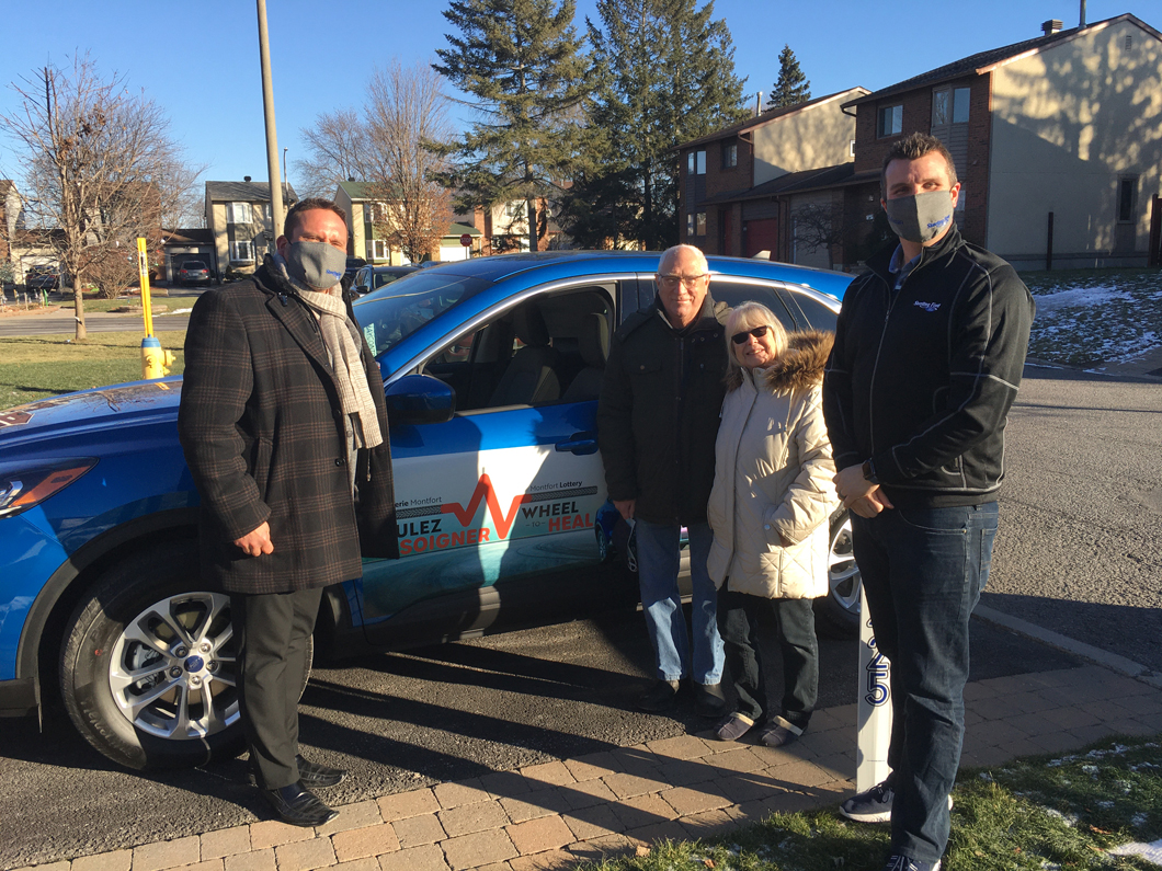 Sterling Ford Joins Forces With the Montfort Foundation for the Montfort Lottery