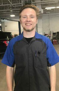James Topping : Apprentice Technician